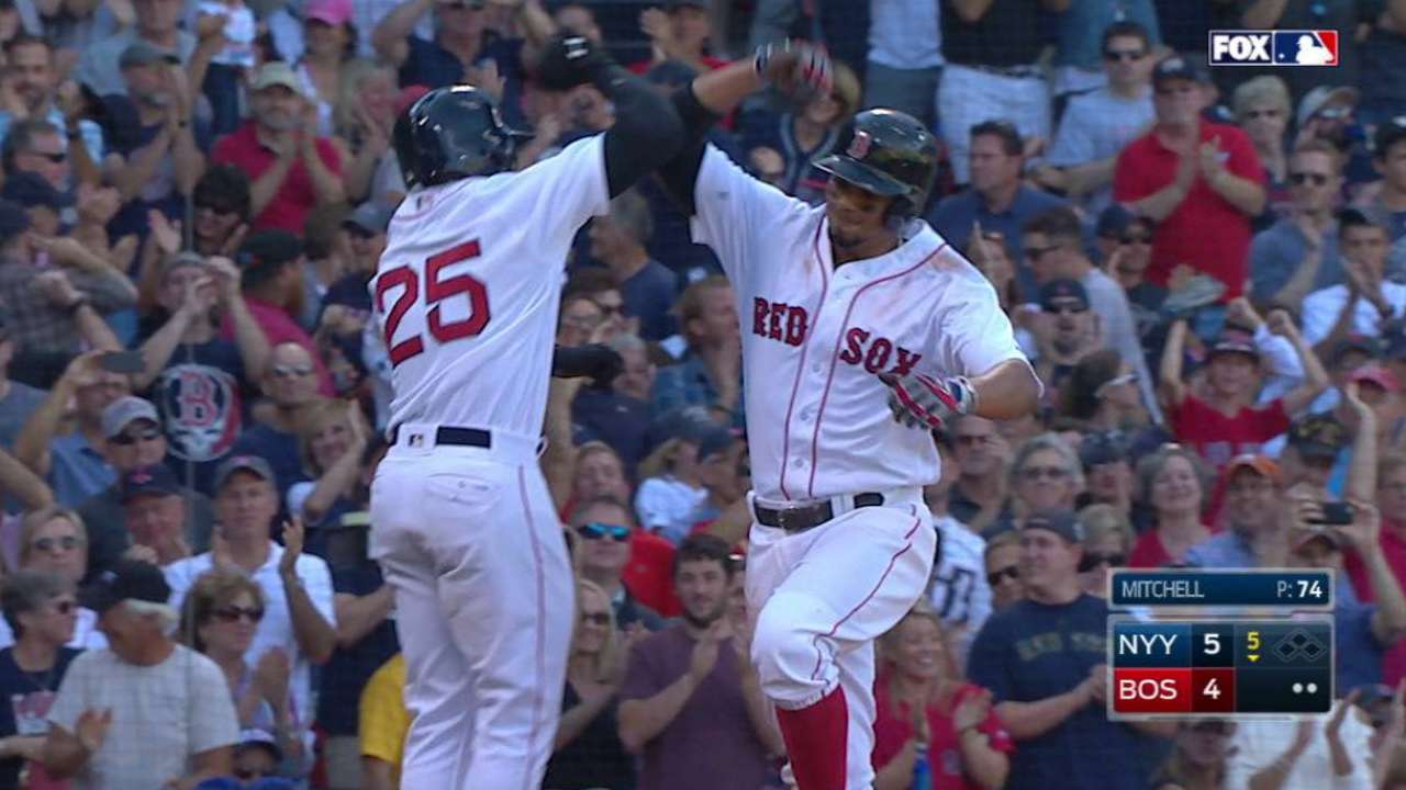 Bogaerts' 20th home run