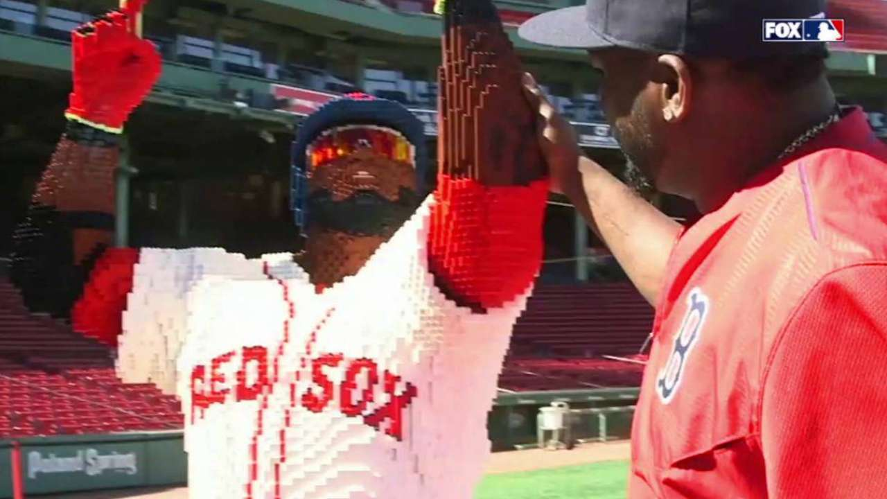 Papi recharges batteries before Orioles series