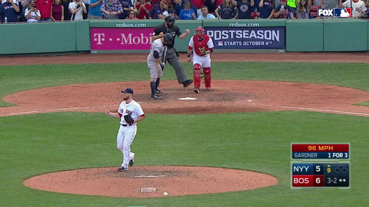 Kimbrel notches the save