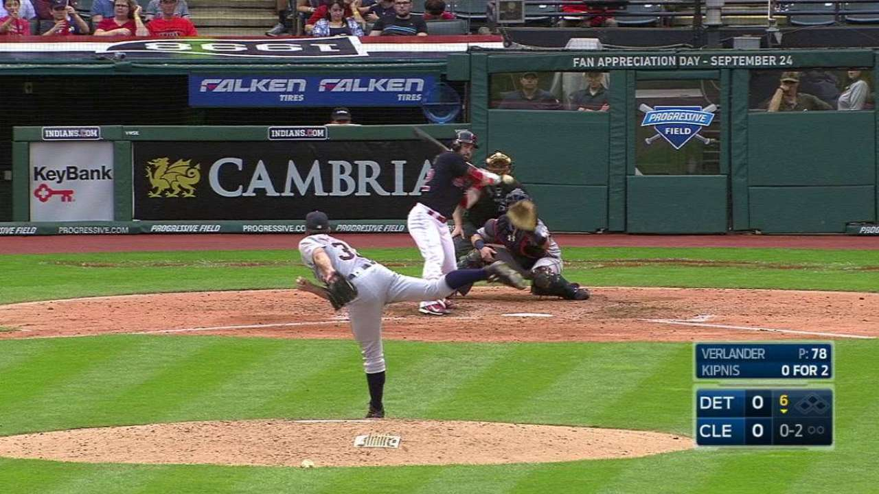Kipnis ends no-hit bid
