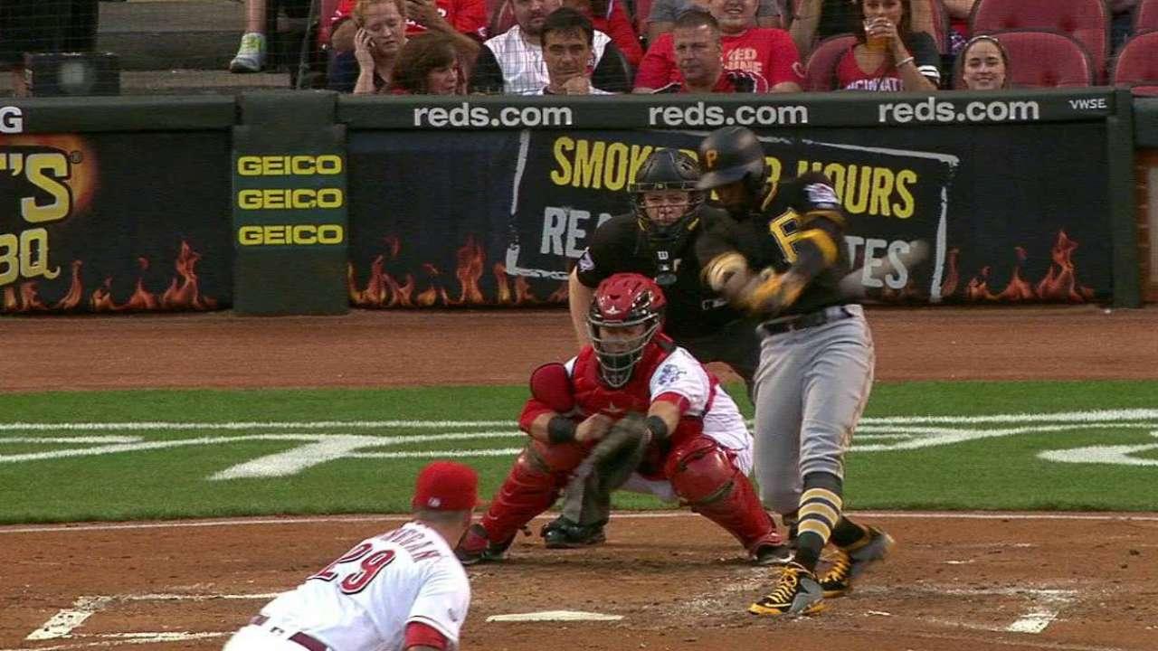 Bucs' big bats fuel doubleheader sweep of Reds