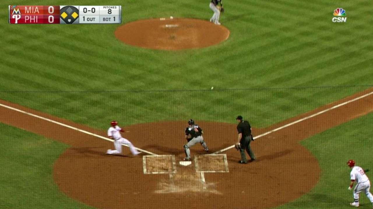 Herrera's RBI double