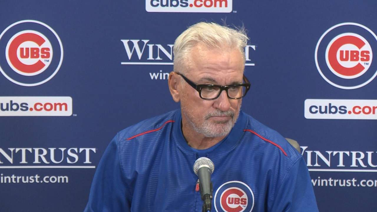 Maddon on loss vs. Brewers