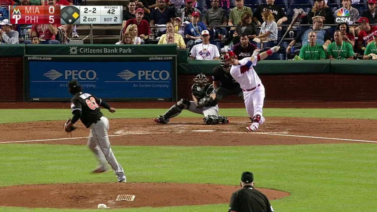 Joseph's two-run homer