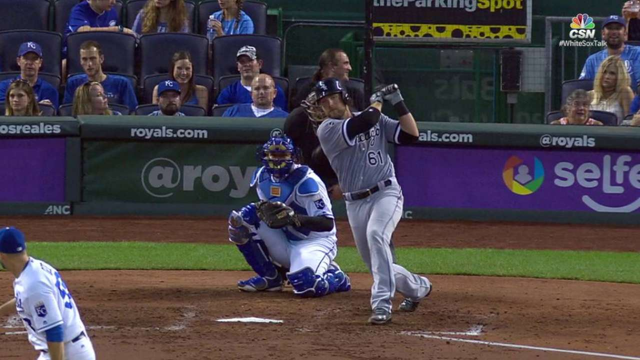 Smith records first career hit