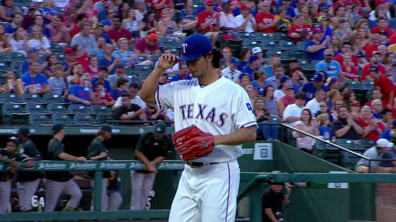 Changing things up backfires on Darvish