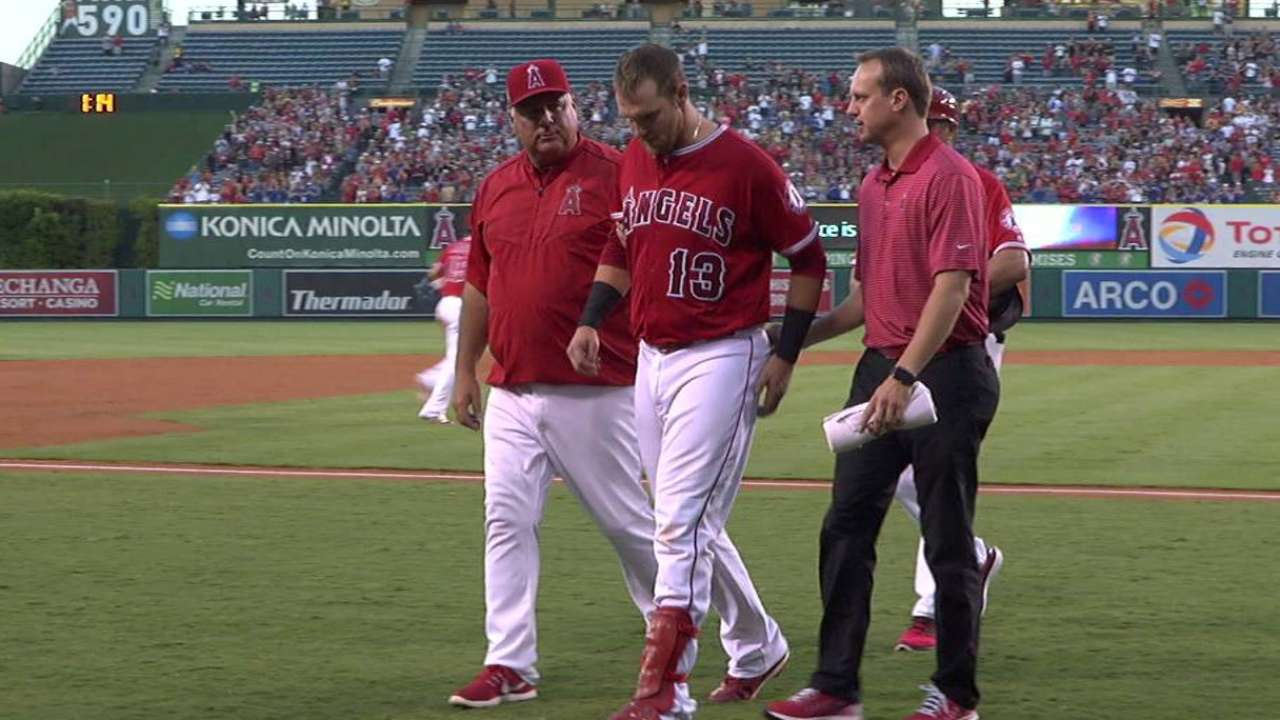 Bandy returns for Angels from back injury