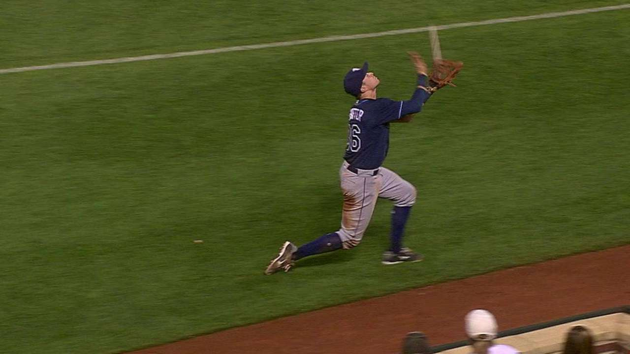 Shaffer's catch in the 9th