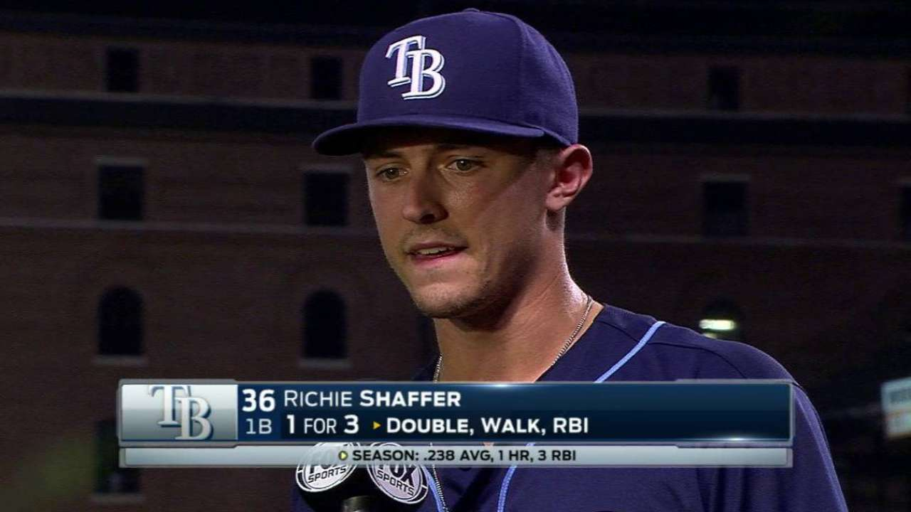 Shaffer on the win