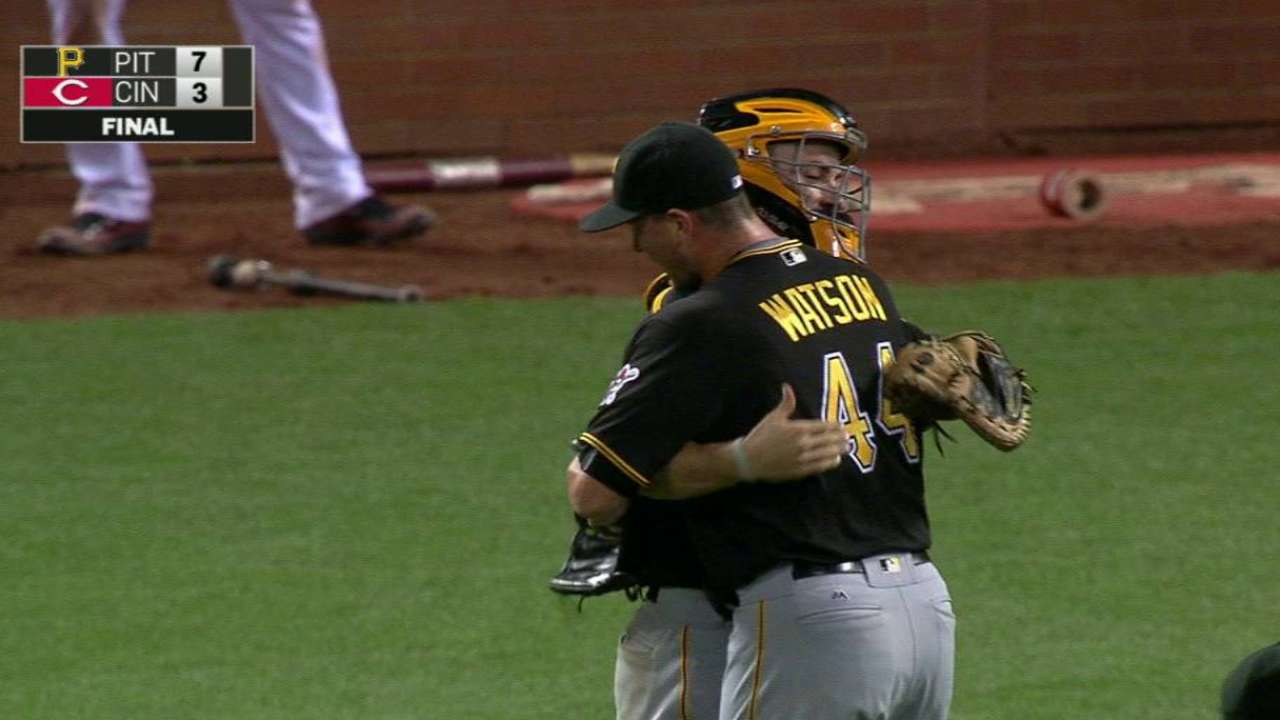 Watson gets groundout, ends game
