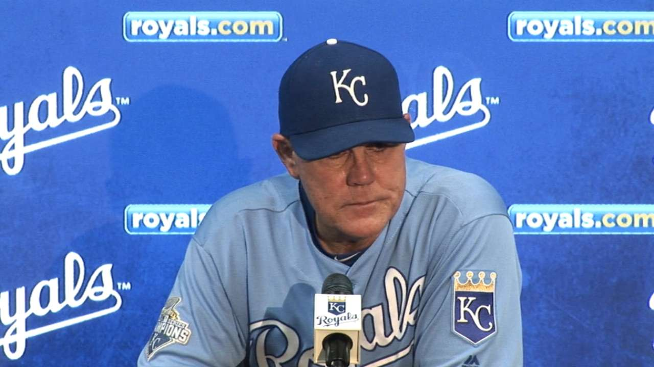 Yost on win over White Sox