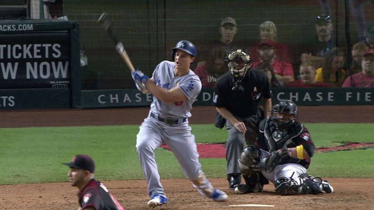Seager sets LA Dodger record