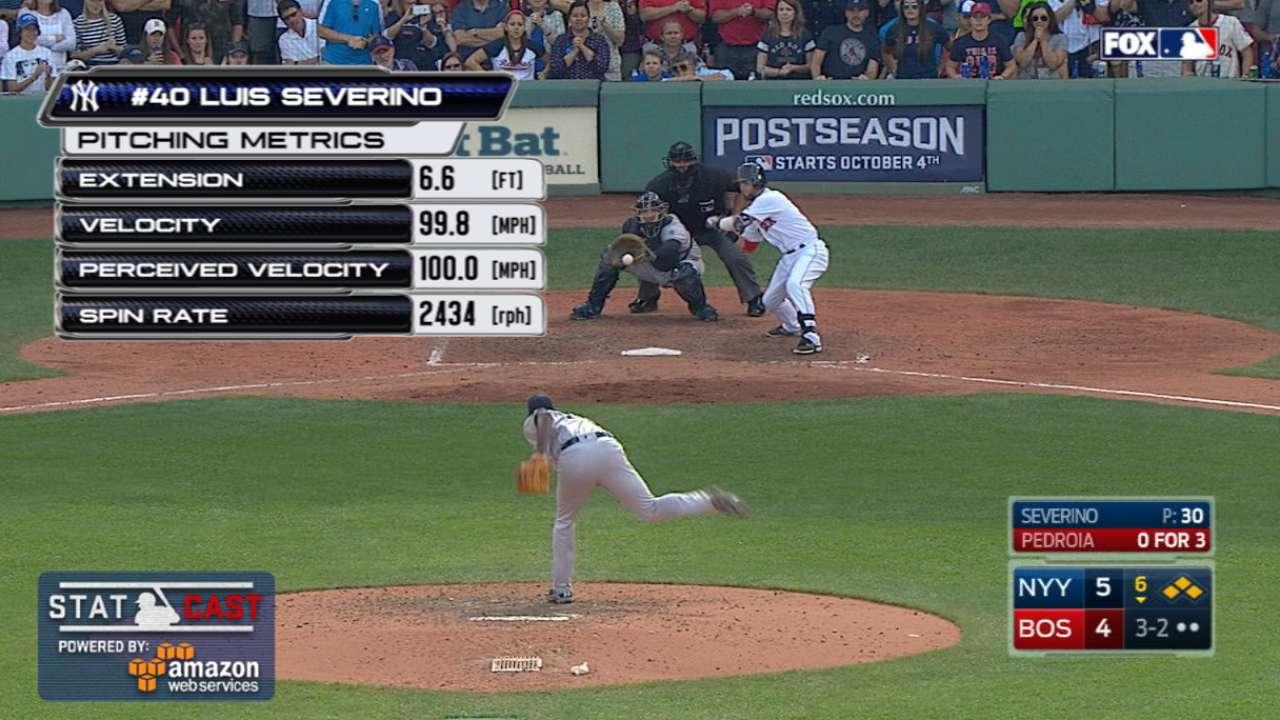 Inbox: Can Severino make Yanks' rotation?