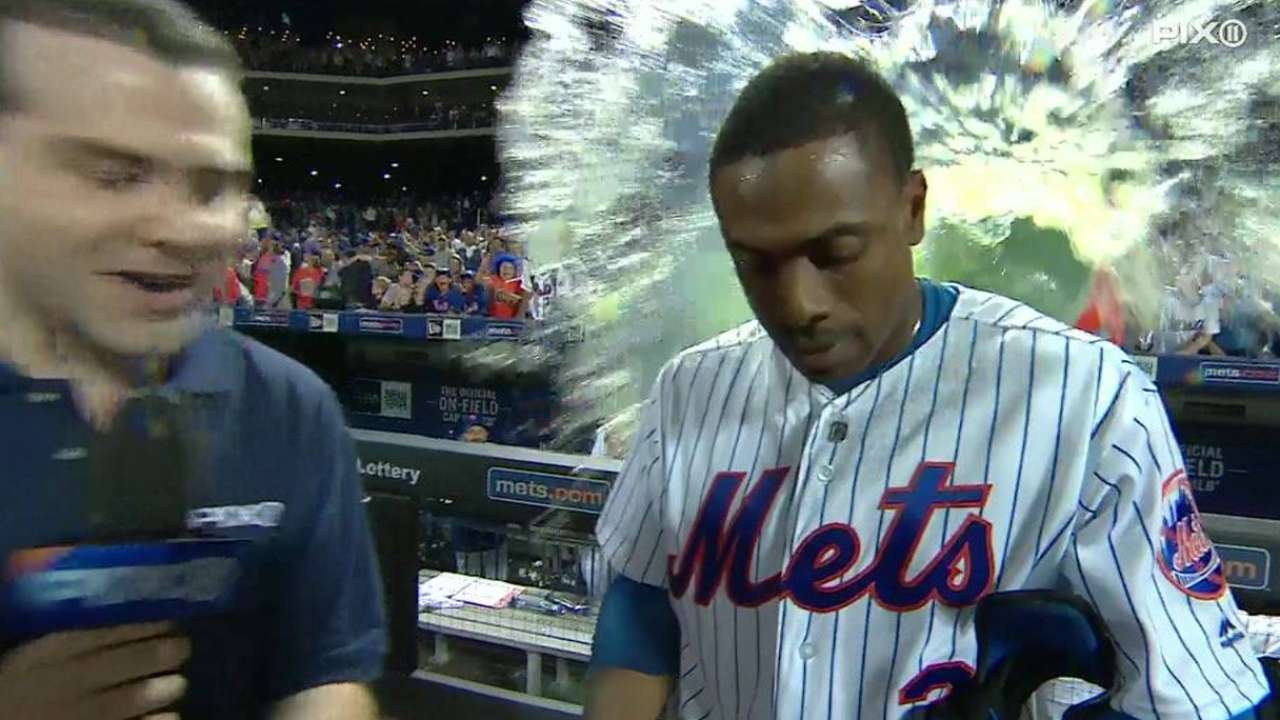 Granderson on his two big homers