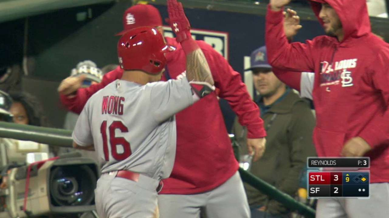 Grichuk, Wong play key roles in comeback win