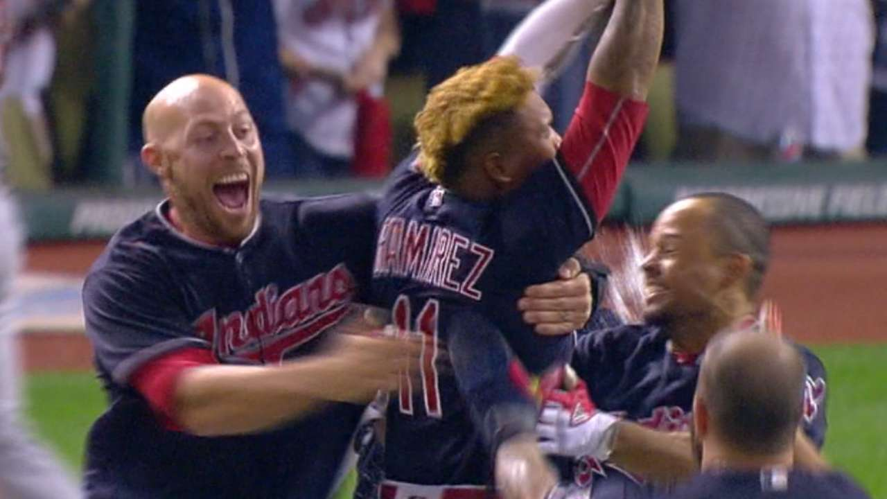Indians' 'pen makes history after key injury