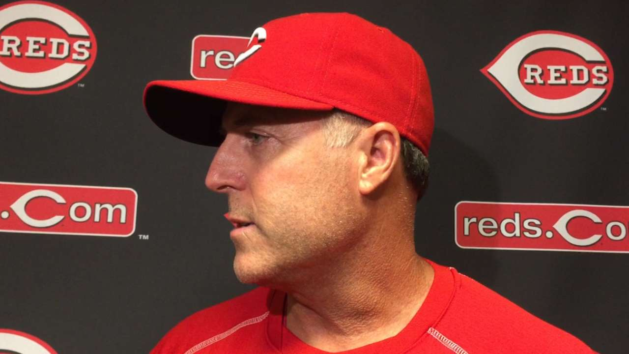 Price hopes banged up Reds can return to field