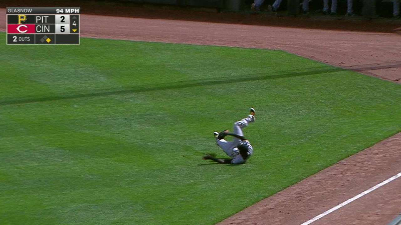 Polanco's diving catch