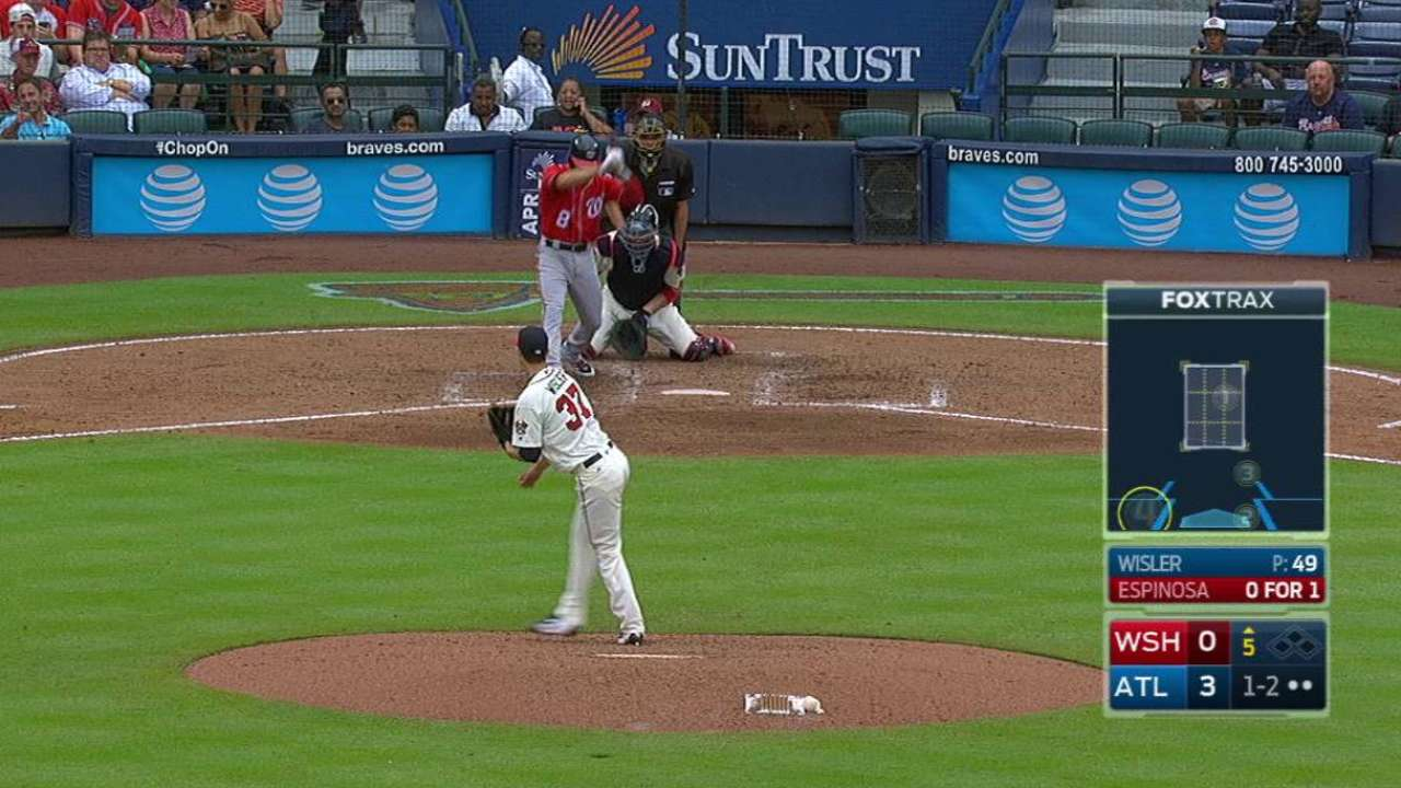 Wisler adds another 'up' to roller-coaster year