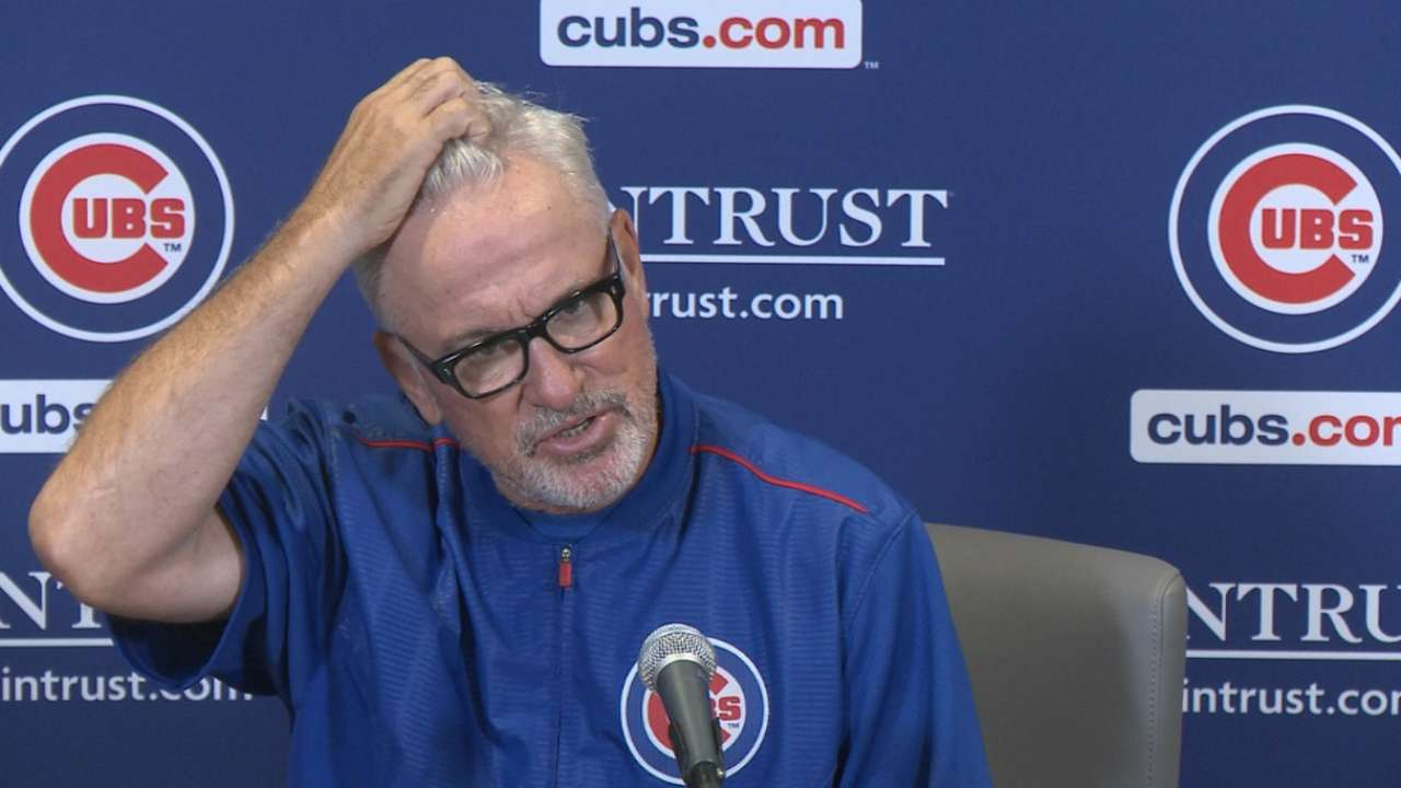 Maddon on 3-1 loss at home
