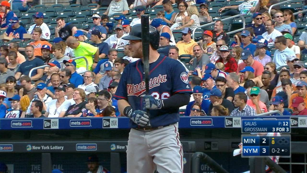 Grossman's four-hit game