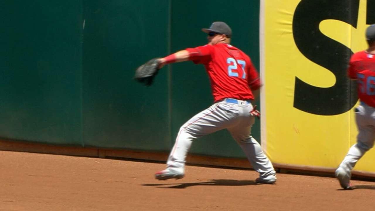 Best Major Leaguer: Trout
