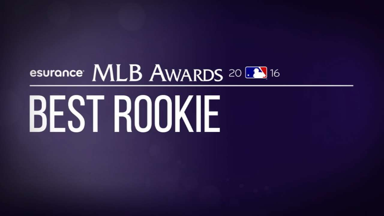 Vote: Young talent up for Best Rookie Award