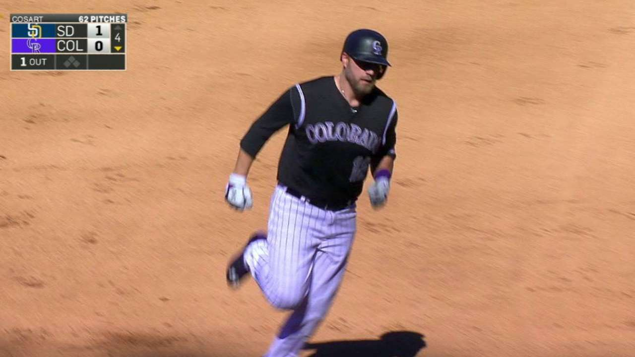 5-run 4th leads Rockies to sweep of Padres