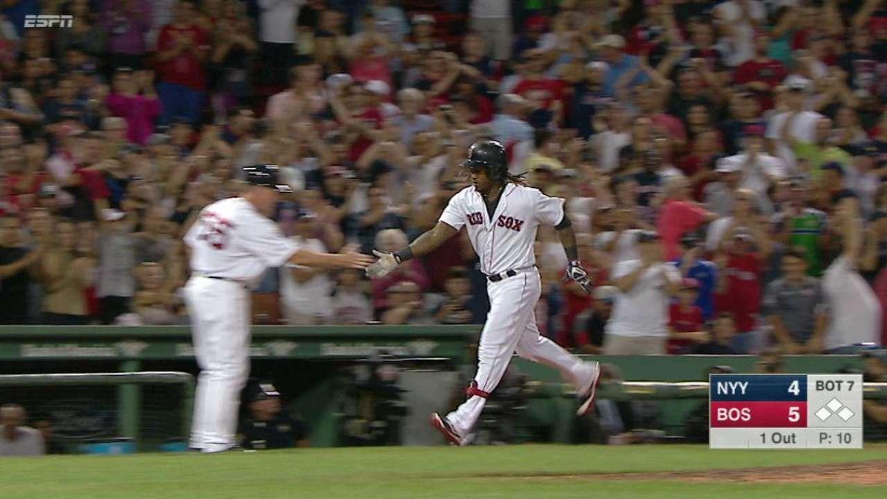 HR's HRs hurt: Sox kiss NYY goodbye?