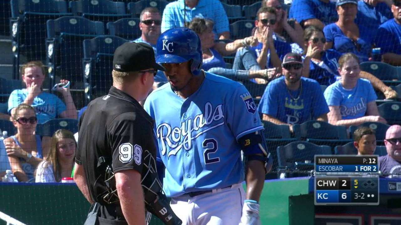 Escobar and Yost get ejected