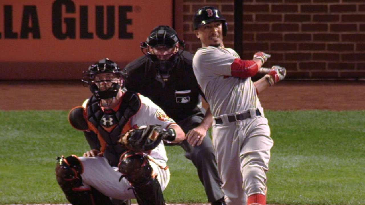 Betts continues historic HR tear in Baltimore
