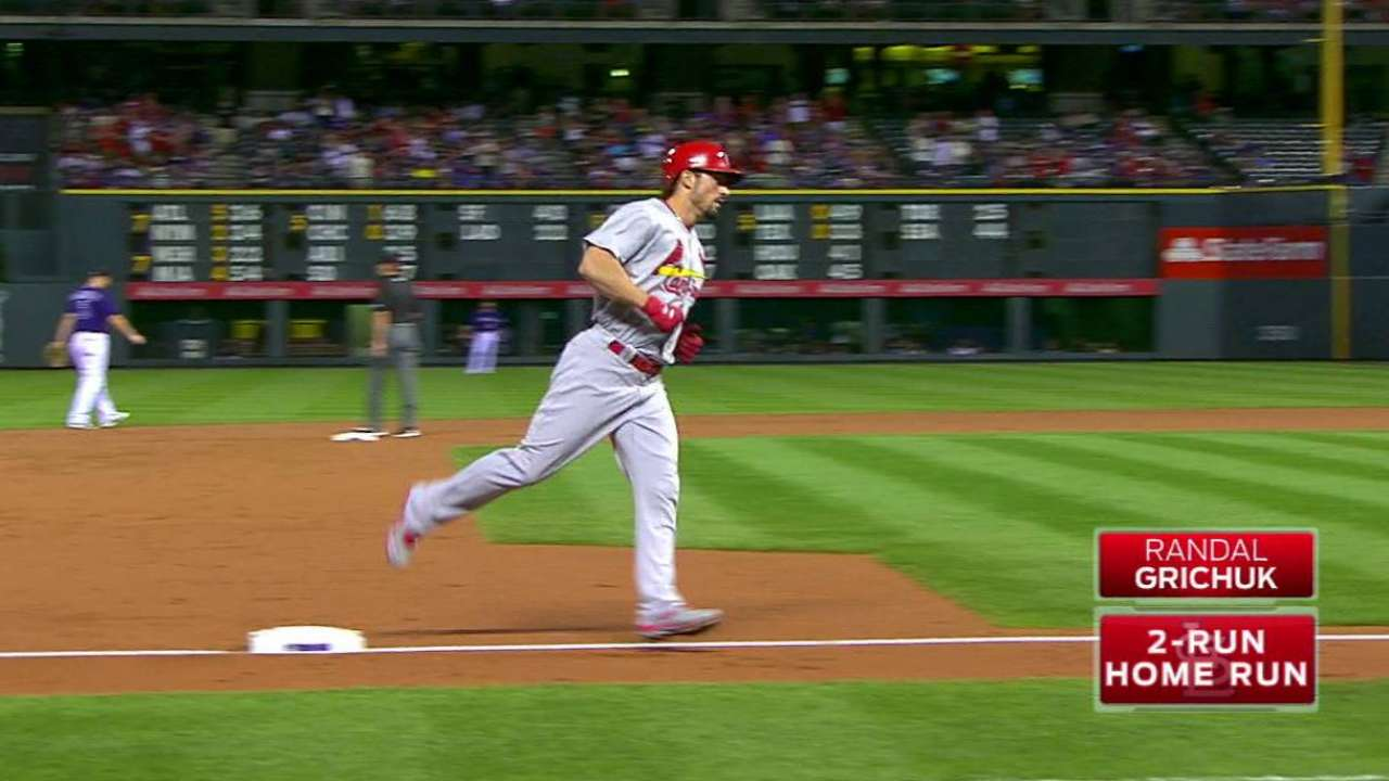 Grichuk's two-run homer