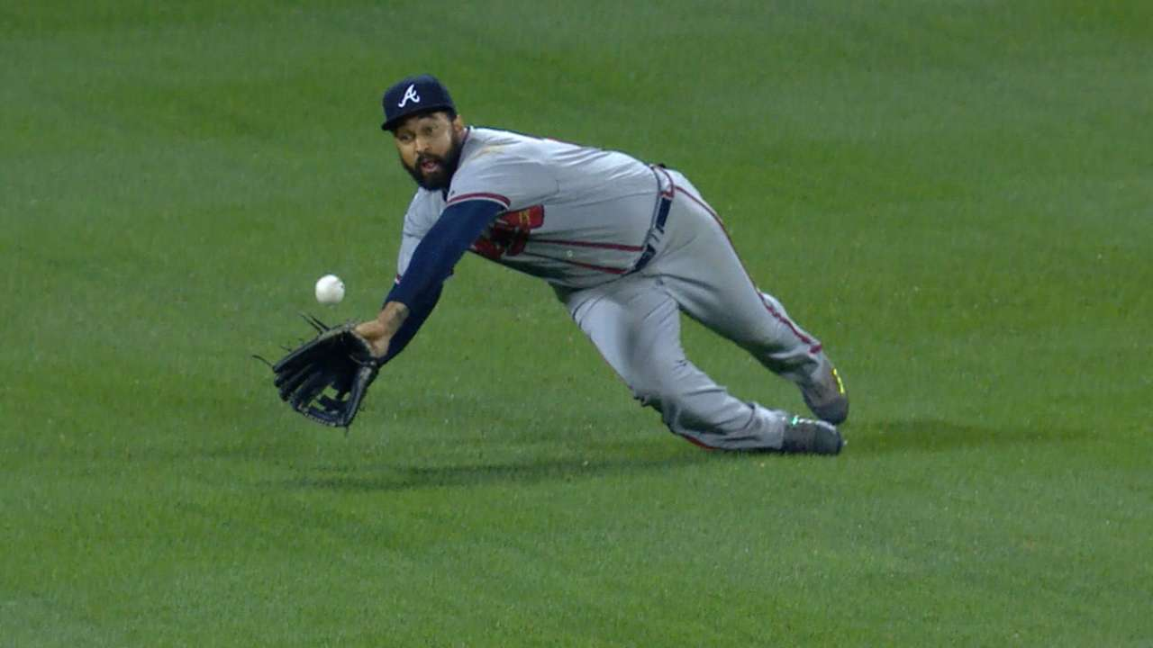 Kemp's great 7th inning in left