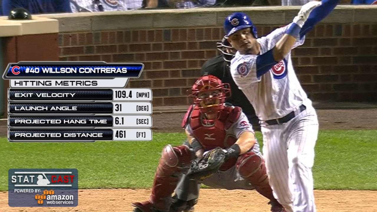 Statcast: Contreras' 461-ft. HR