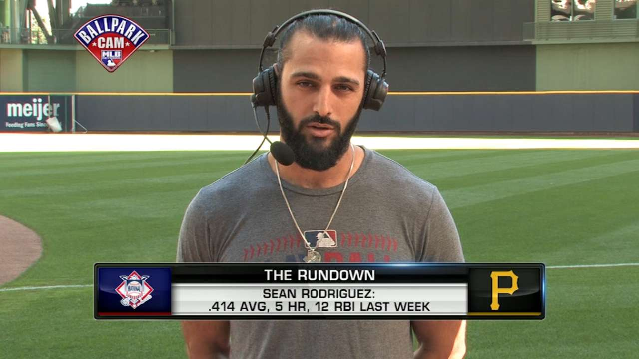 Bucs' Rodriguez named NL Co-Player of Week