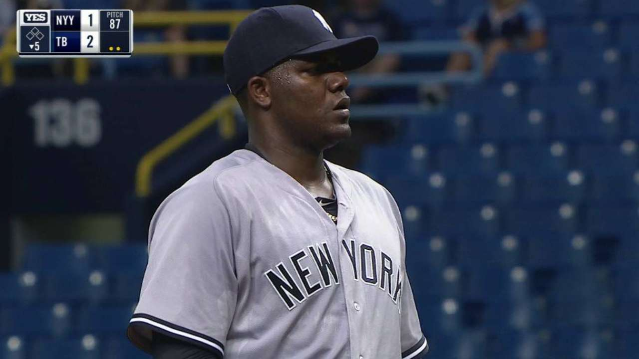 Pineda's 10th strikeout