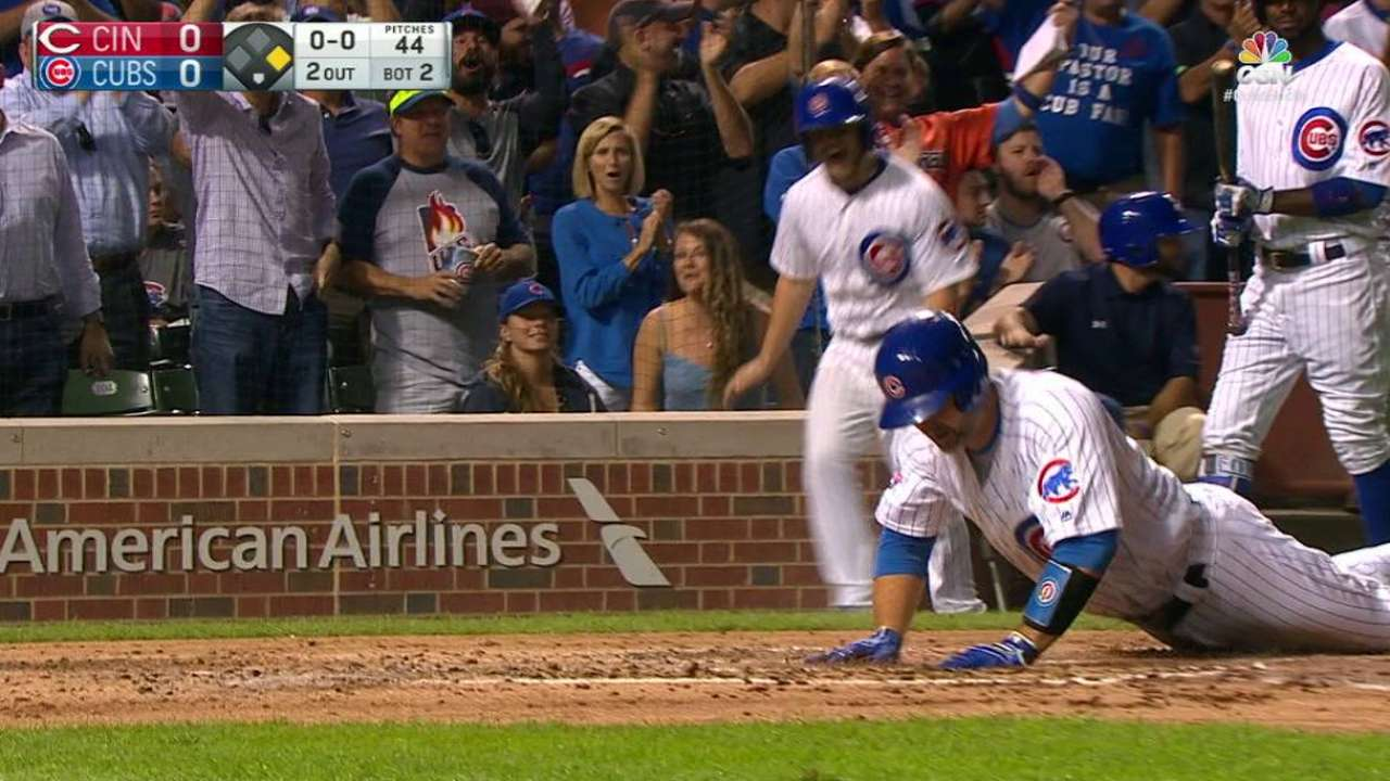 Cubs defeat Reds, clinch NLDS home field