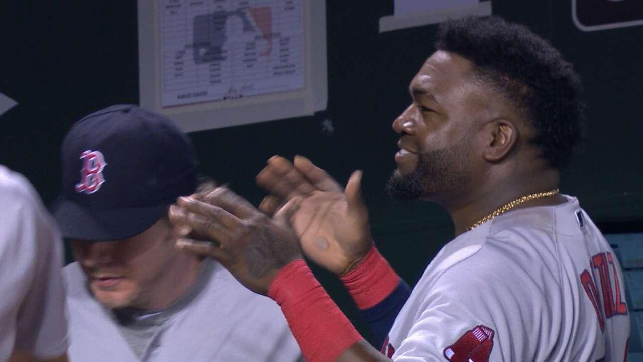 Papi tweaks fan after homer