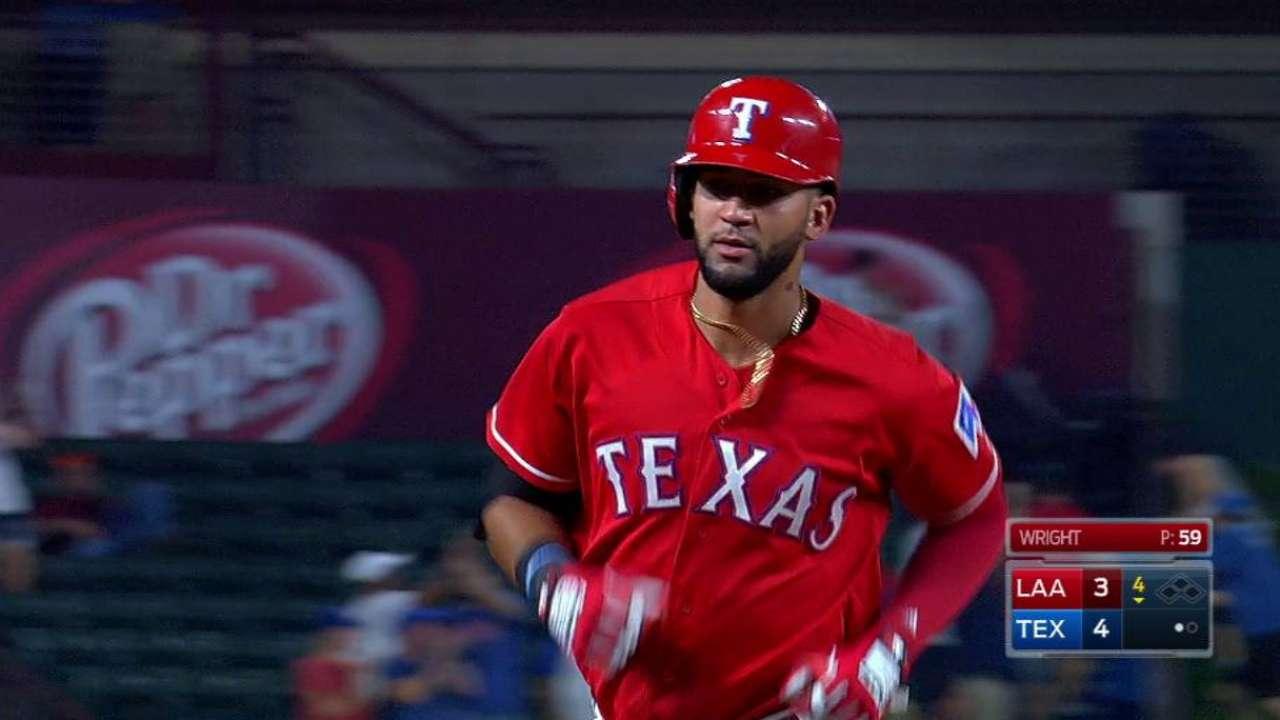 Another 1-run win has Texas' magic No. at 2
