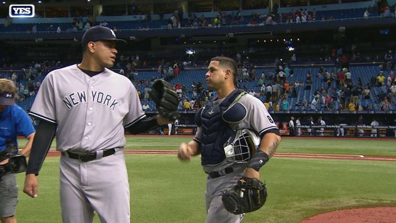 Betances garners 12th save