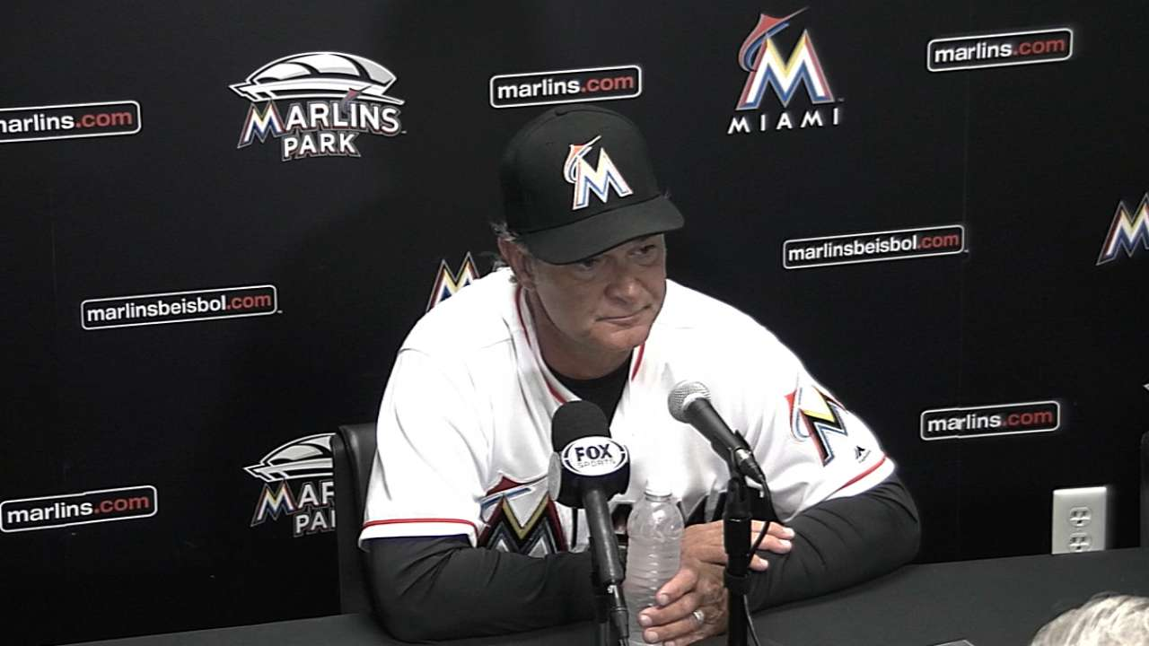 Mattingly on win over Nationals
