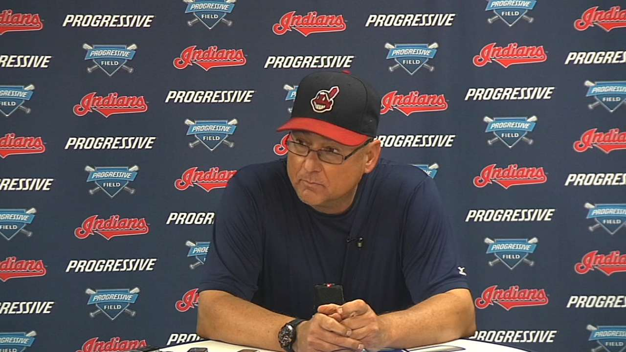 Francona on win over Royals