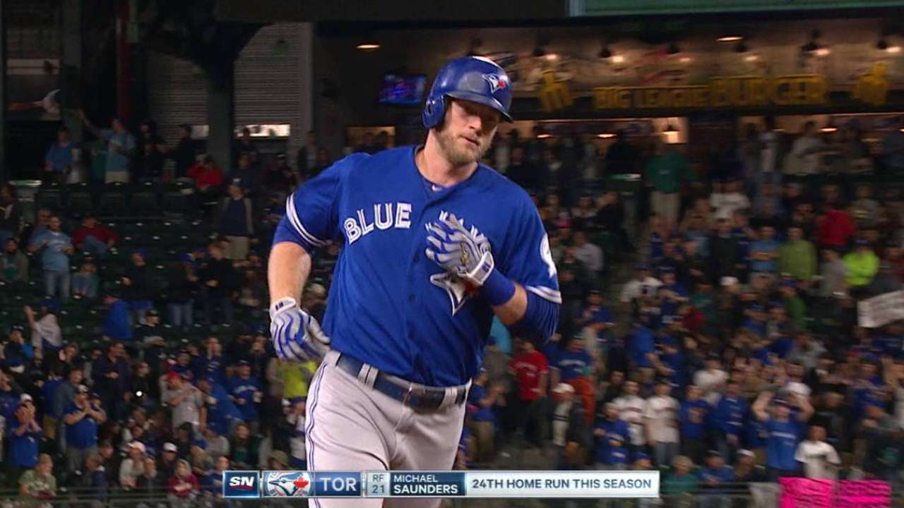 Saunders on other side of Toronto-Seattle rivalry