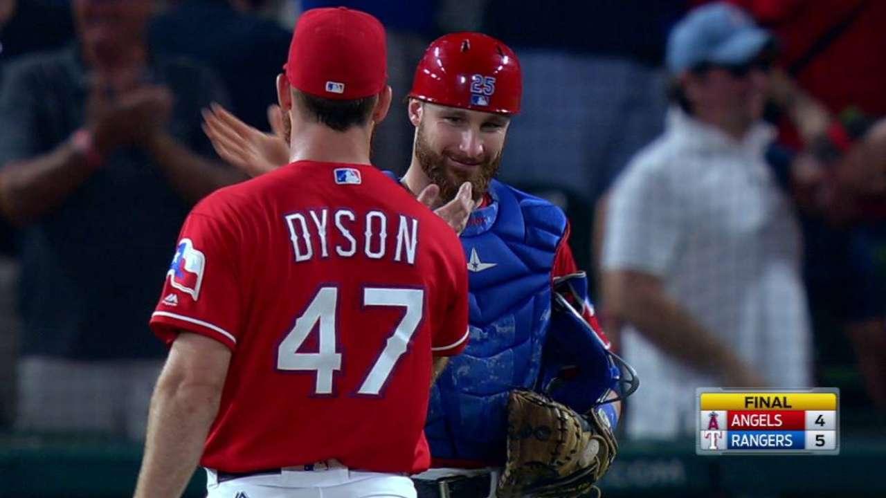 Dyson earns the save