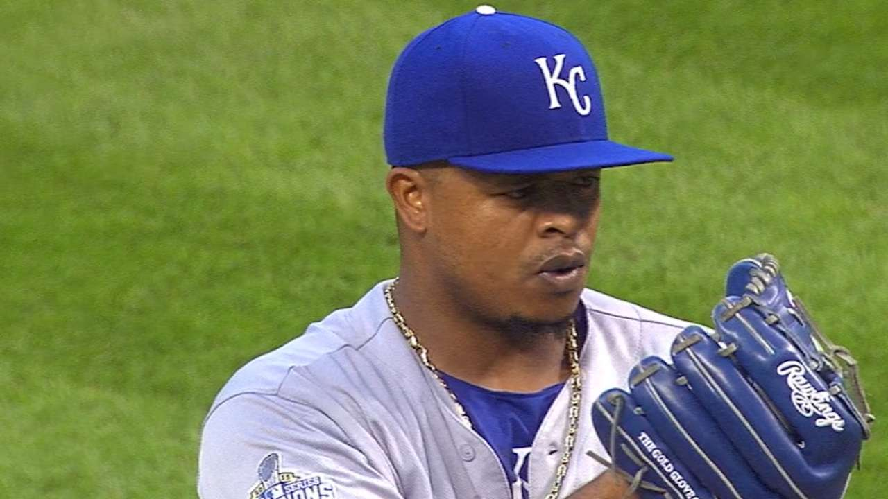 Volquez holds Indians to one run