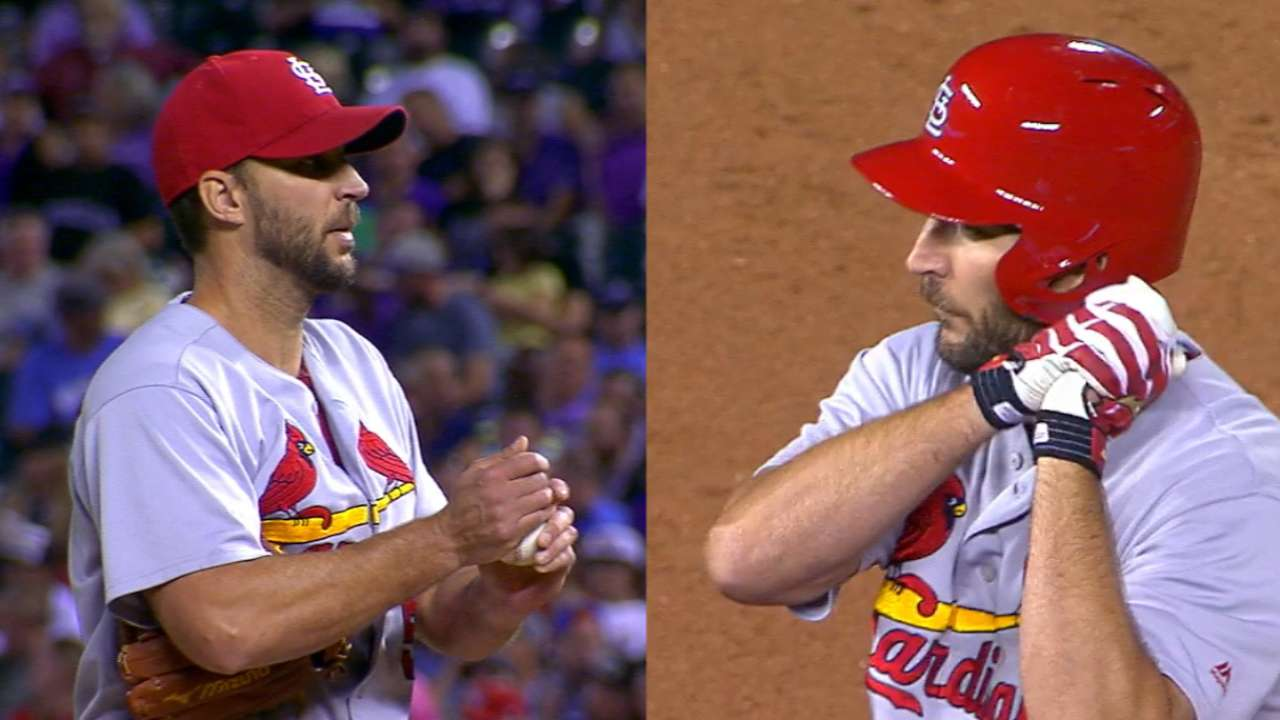 Cards see the best of Waino against Rockies