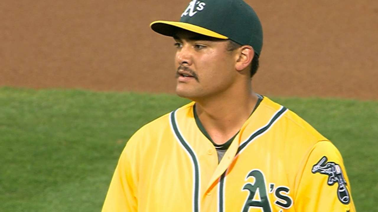 Manaea's scoreless start