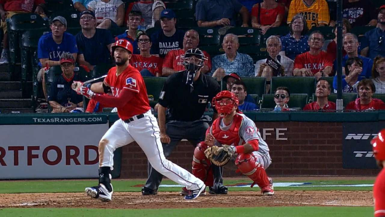 Mazara's 438-foot home run