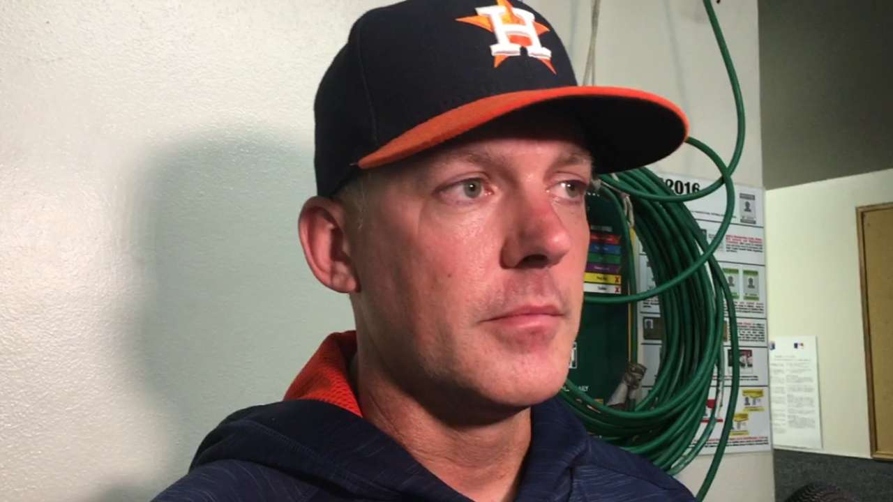 Hinch on Astros' 2-1 win
