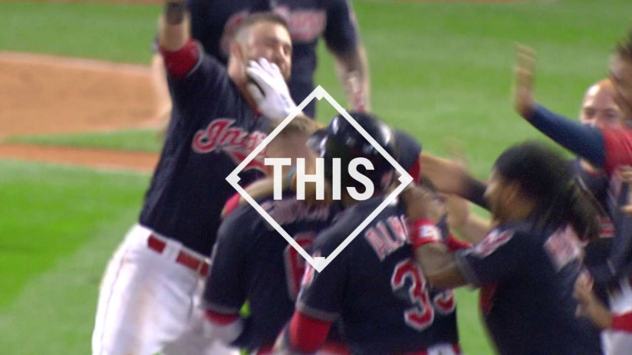 #THIS: Cleveland, walk-off city